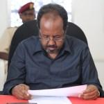الرئيس الصومالي حسن شيخ محمود