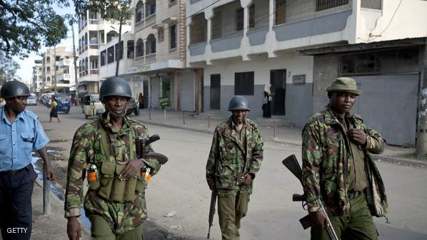 KENYA-UNREST-RELIGION-POLICE