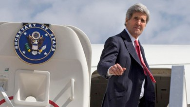 Kerry leaves Tel Aviv
