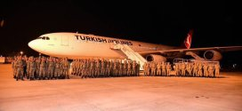 بالصور… وصول قوات تركية إلى مقديشو