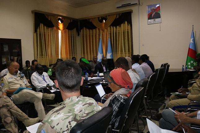اجتماع حول أمن ولاية جنوب غرب الصومال يختتم أعماله في بيدوا