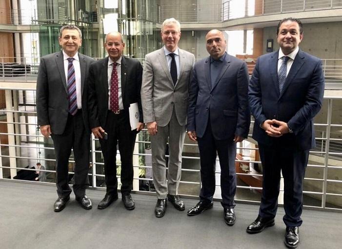 البرلمان العربي يدعو البوندستاج الألماني الإعتراف بدولة فلسطين ودعم الأونروا