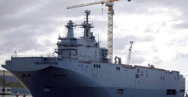سفينة عسكرية مصرية