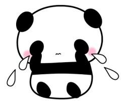 パンダ 泣く
