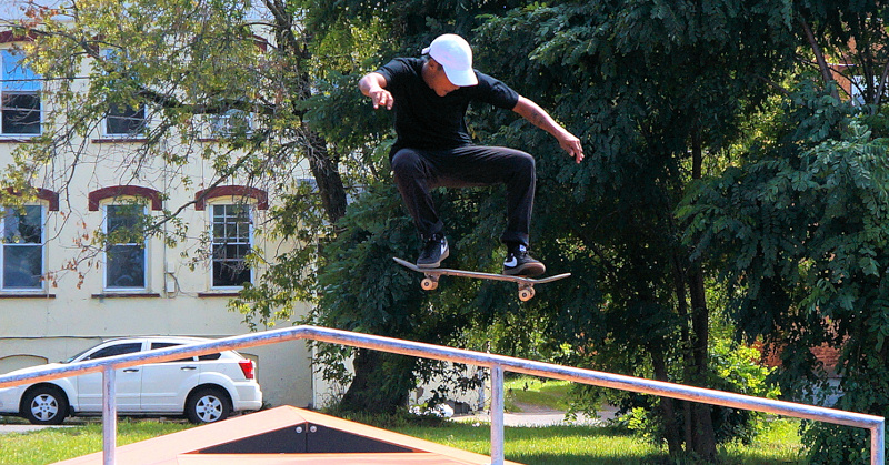 East Main park adds skateboard and playground equipment, splash park may be in future