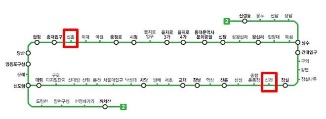 SEOUL METRO LINE2