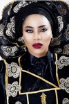 Must See Look: Check Out Fashion Designer Toyin Lawani's In Female Agbada As She Celebrates Birthday