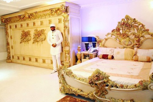 Photos: EMoney Shows Off Massive GOLD Themed Bedroom
