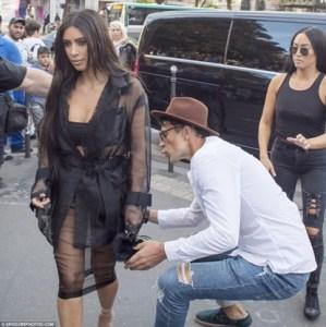 Watch Vitalii Sediuk Try To Kiss Kim Kardashian's Ass