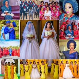 The Doctor Weds The Accountant! See Primary School Sweet Hearts Lara And Niyi Who Made It To The Altar