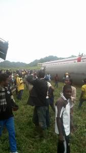 Overcrowded Train Derails In Cameroon Leaving 55 Dead While Over 500 Injured