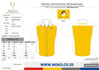 Model Baju Seragam Praktek SMK Jurusan Teknik Audio Video