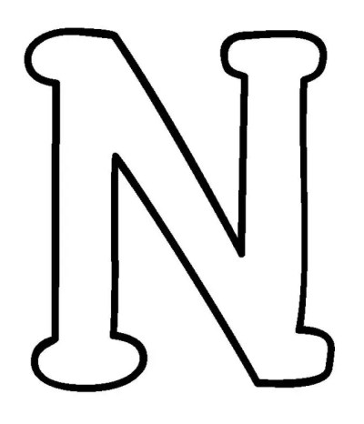 Moldes de Letras Maiúsculas