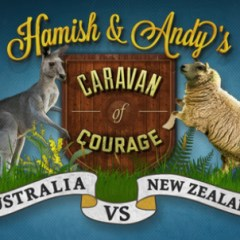 …Because you can't get there by bus (@hamishandandy's Caravan of Courage #AUvNZ)