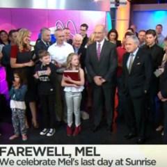 The end of an era: @melissadoyle leaves @sunriseon7