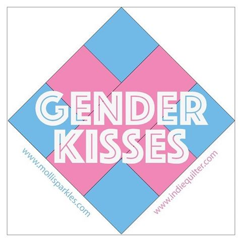 The dust has settled and now the GenderKisses quilt challengehellip