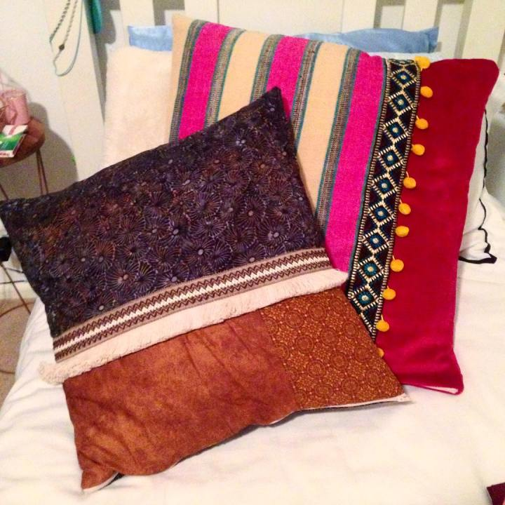 Omg yall! Check out the cushions Charlotte has made fromhellip