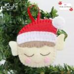 Make a felt Christmas Elf - a Molly and Mama tutorial