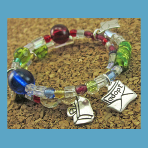 Adoption Journey Charm Bracelet