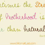 Motherhood and Natural Law