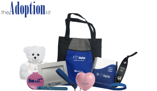 Adoption Survival Kit with Adoption Kit Words