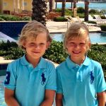My Sons in Saint Martin