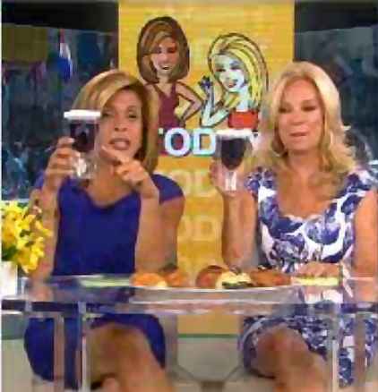 Kathie Lee and Hoda with the Mommys Sippy Cup