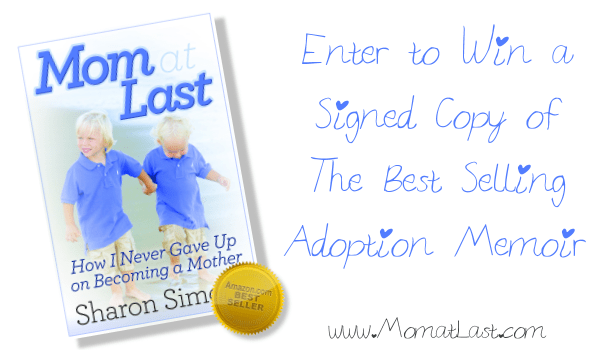 Mom at Last Signed Copy Giveaway