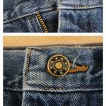 Replace your jean button. No sew!