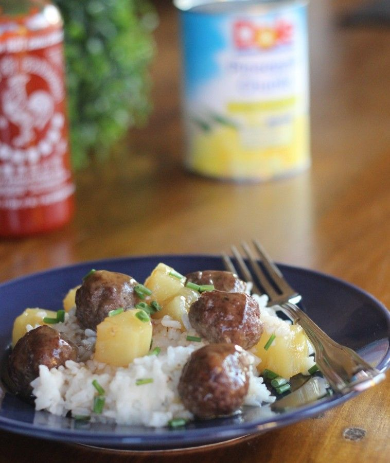 Easy Sweet and Sour Meatballs.