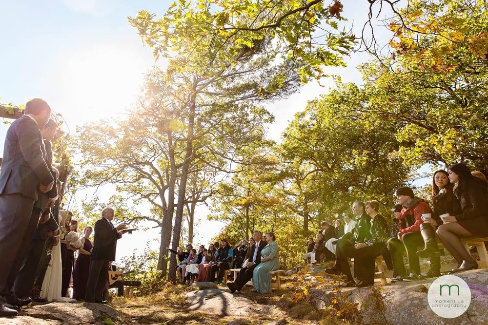 1000 islands wedding ceremony location