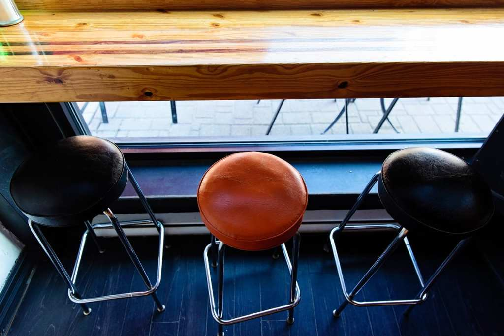 Eastern Ontario diner stools