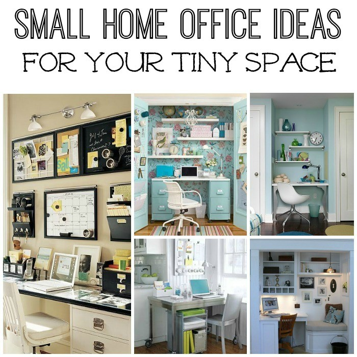 Five small home office ideas Home ideas for small houses