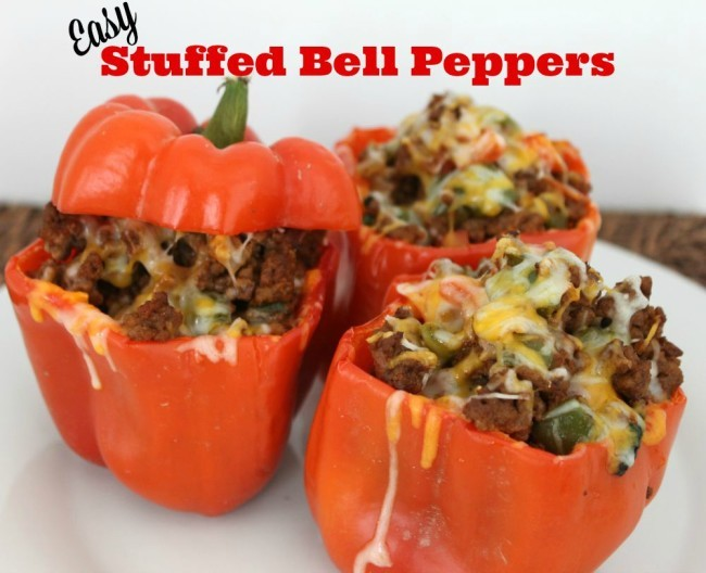 Easy Stuffed Bell Pepper Recipe Perfect for a Weeknight Meal