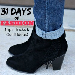 Join me for 31 Days of Fashion