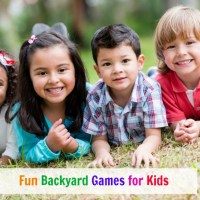 Fun Backyard Games for Kids - Plus TruGreen Sweepstakes!