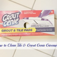 How to Clean Tile and Grout Genie Giveaway