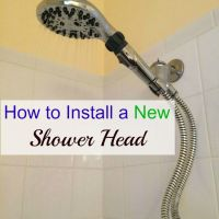 How to Install a New Shower Head Tutorial