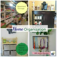 Home Organization Tips & Blog Hop