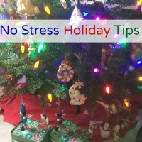 No Stress Holiday Tips Plus Giveaway!