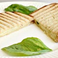 Basil Pepper Jack Grilled Cheese