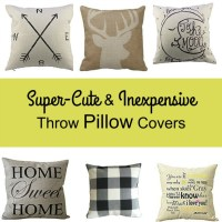 Super-Cute & Inexpensive Throw Pillow Covers