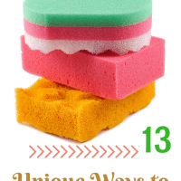 13 Different Ways to Use a Sponge Around The House