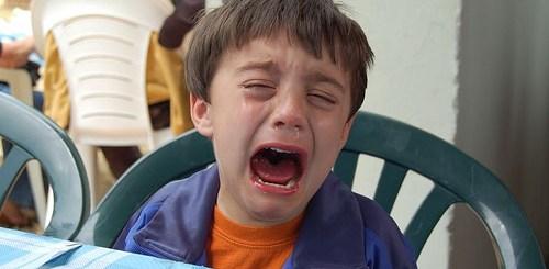 child cry
