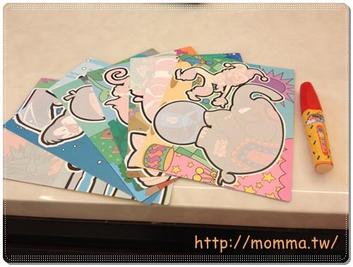 [败家]宝宝绘本书!魔法水绘游戏:可爱动物