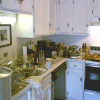 Messy Kitchen Challenge