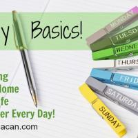 Daily Basic Routines - Cleaning List- Free Printable for Your Home