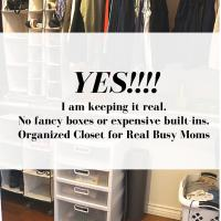 YES, I Organized My Messy, Scary Closet in Three Simple Steps.