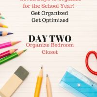 Back to School - Organize Your Child's Closet
