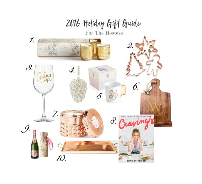 2016 Holiday Gift Guide For The Hostess